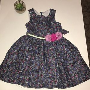 Pippa & Julie 3T purple floral dress